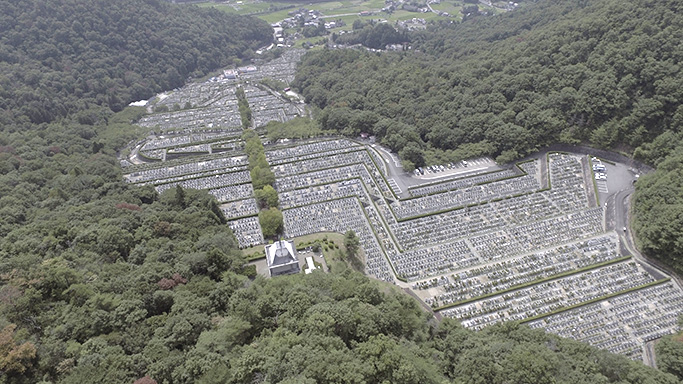 猪名川霊園全体