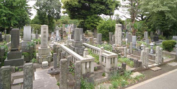 台東区の霊園・お墓・墓地「都立谷中霊園」